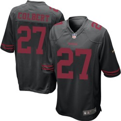 Game Men's Adrian Colbert Black Alternate Jersey - #27 Football San Francisco 49ers