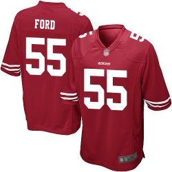 Game Men's Dee Ford Red Home Jersey - #55 Football San Francisco 49ers