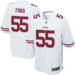 Game Men's Dee Ford White Road Jersey - #55 Football San Francisco 49ers