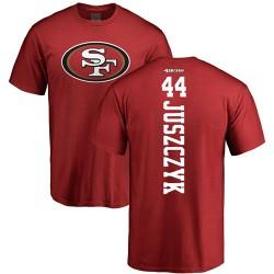 Kyle Juszczyk Red Backer - #44 Football San Francisco 49ers T-Shirt